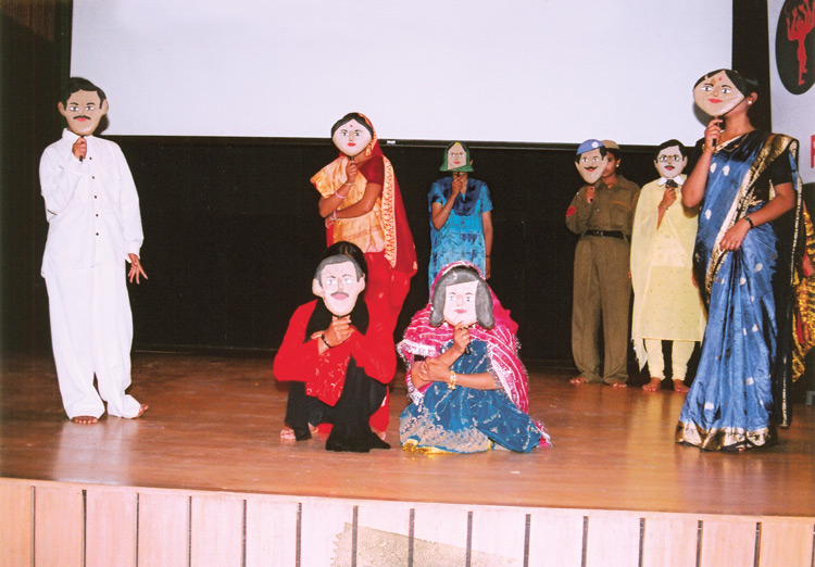 Platinum Jubilee Celebrations - Street Play at Alliance Francaise , IIC, New Delhi