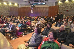 Audience at the Inaugural Function