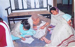 Basic Literacy Class, Pataudi