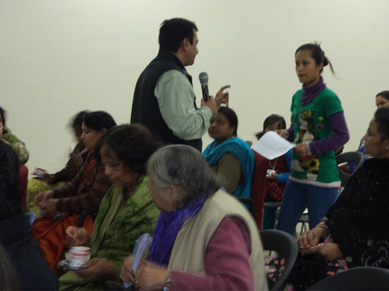 Cyber Crime Workshop at AIWC, Delhi in Feb 2014
