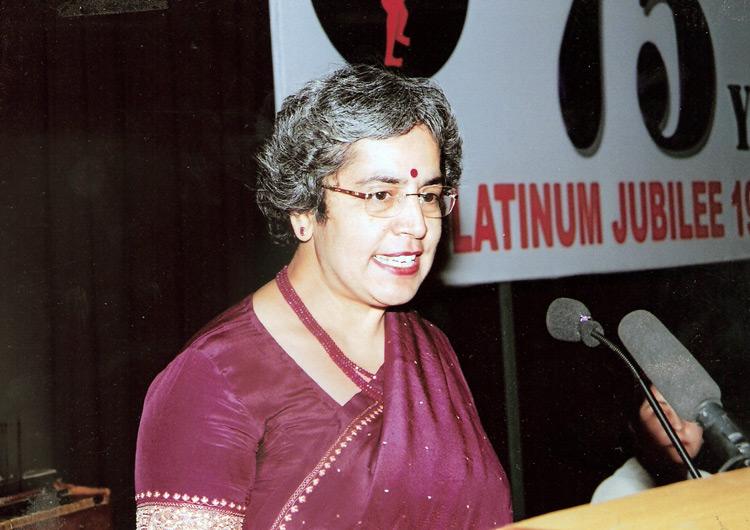 Dr. Anupa Siddhu, Director Lady Irwin College at the seminar