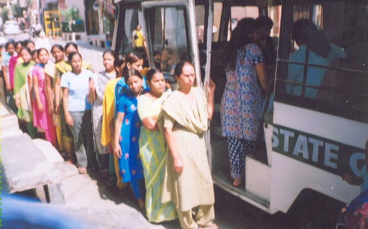 Health Check-up Van at GRC