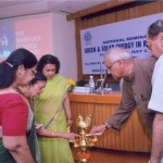 Lamp Lighting at National Seminar - 'Green and Solar Energy in Rural Areas' held at IIC, Delhi in July, 2012