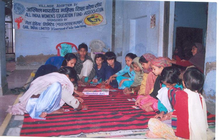 Non-formal education, Pataudi Village, Gurgaon