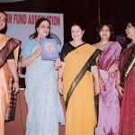 Release of Platinum Jubilee Souvenir by Dr. Girija Vyas
