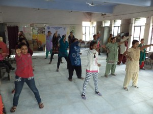 Self Defence Training at Ark Foundation March 2015