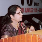 Welcome address by Dr. Sarala Gopalan, President AIWEFA
