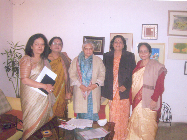 AIWEFA Executives with Smt. Sheila Dixit, CM, Delhi in 2008