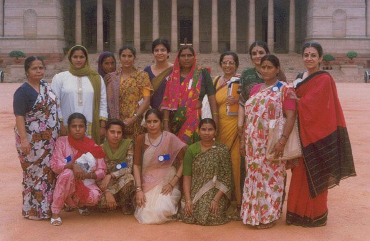 Women Leaders at Panchayati Raj Sammelan