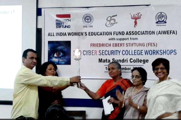Cyber Security Workshop at Mata Sundri College, 1 Sep 2015