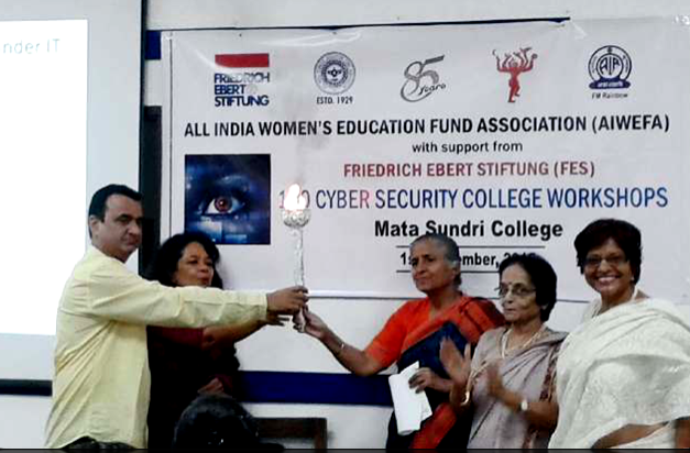 Cyber Security Workshop at Mata Sundri College, 1 Sep 2015