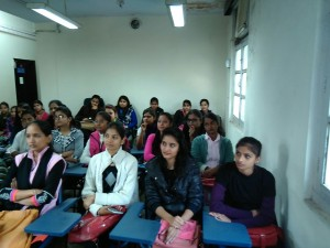 TATA-workshop to mobilize non-collegiate , University of Delhi ,women candidates.
