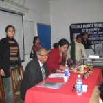 "The Violence Against Women""  workshop  at LIC, New Delhi."