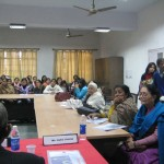 """Audience at"" Violence Against Women Workshop""at LIC,  New Delhi"